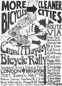 Initial London to Brighton poster 1976